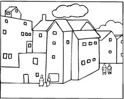 Wijk In De Stad Kleurplaat Gratis Kleurplaten Printen