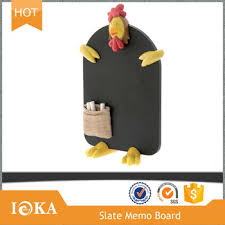 Cute Memo Boards Extraordinary Cute Chicken Shaped Nature Slate Decorative Memo Board Buy