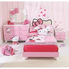 Elegant Hello Kitty Bedroom Set