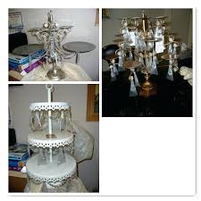 chandelier cupcake stand advertisements white chandelier cupcake stand