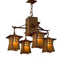 home magnificent mission style chandelier lighting 36 amazing impressive arts crafts genre copper fit light art