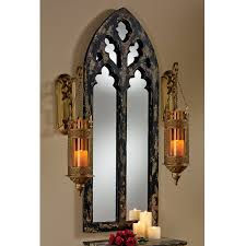 Small Picture Shop Design Toscano Gothic Cathedral BlackGold Polished Arch Wall