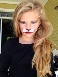 start out with the white mustache then finish off with the whiskers awesome dog tiger face paint