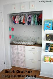 this diy built in closet is a closetmaid it s pretty simple to customize
