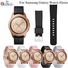 20mm <b>Sports Silicone Band For</b> Samsung Galaxy Watch SM R810 ...