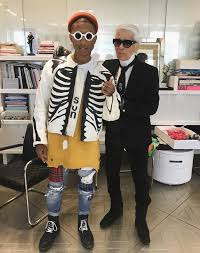 chanel x pharrell adidas. pharrell, adidas and chanel have a potential collaboration underway x pharrell