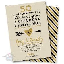golden wedding anniversary invitation 50th anniversary invitation fiftieth wedding invite birthday invite