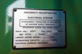 used unknown for cincinnati hydraulic power shear 1 4 x 10 product images