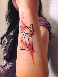 Tetování Kočka Tetování Tattoo