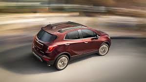 buick encore. picture showing the stabilitrak technology of 2017 buick encore compact suv providing a smooth c