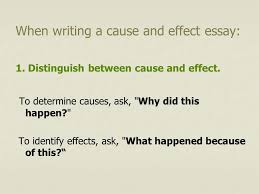 cause effect essay introduction the cause effect essay explains  introduction the cause effect essay explains why or how some event happened and what