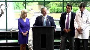 Marsha & Jimmy Gibbs Donate $250,000 to the new Gibbs Health Institute -  YouTube