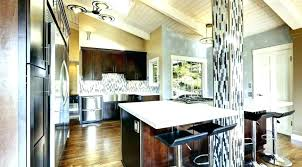 E Vaulted Ceiling Lighting Options  Kitchen