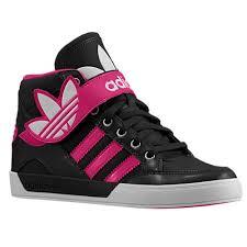 adidas shoes high tops for girls black and white. adidas originals hard court hi strap - girls\u0027 preschool shoes high tops for girls black and white