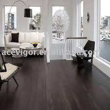 i love the black hardwood flooring