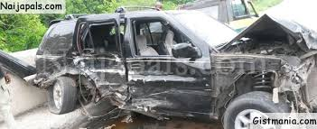 Lady Cheats Death After Horrific Car Accident While Traveling For ...