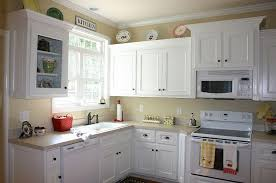 painted white cabinetsBrilliant Painting Kitchen Cabinets White Top Kitchen Design Trend