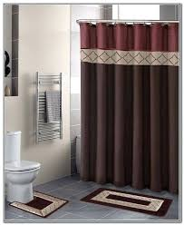bath curtain sets bathroom sets with shower curtain and rugs decor ideas set matching bath accessories