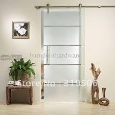 modern glass barn door. See Larger Image Modern Glass Barn Door I