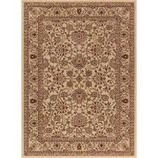 ankara mahal ivory 3 ft x 4 ft area rug ivory brown black red