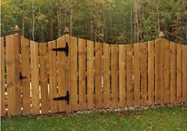 wood fence panels. Heritage Concave Wood Fence With Gate By City Buffalo, NY \u0026 Western New York Panels
