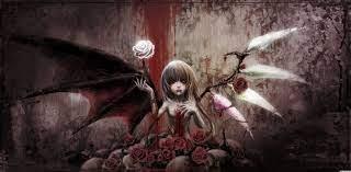 Demon Girl Wallpaper on WallpaperSafari