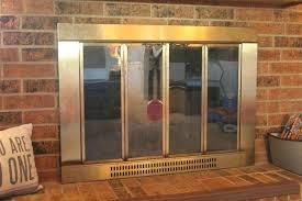 diy fireplace screen fireplace screen update diy glass fireplace screen