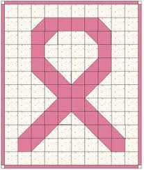 Pink Ribbon Quilt Patterns | Bargello Quilt Patterns - Erica's ... & Awareness Ribbon Quilt for a dear friend who just lost her mother to Breast  Cancer Adamdwight.com