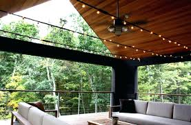 rustic ceiling fan light create cool relaxed mood on porch outdoor patio fans with lights i43