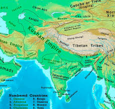 the changing map of india from 1 ad to the 20th century India Map Before 1600 the kushan empire 100 ad india map before 1600