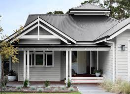 popular grey traditional facade