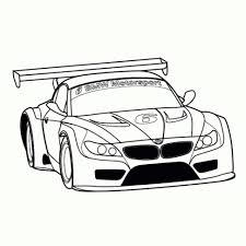 Niewu Kleurplaat Race Auto Kleurplaat 2019