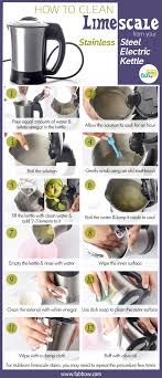 How To Clean Stainless Steal How To Clean Limescale From Your Stainless Steel Electric Kettle