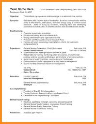 Resume Model For Experience Candidate 10 11 General Labor Resume No Experience Lascazuelasphilly Com