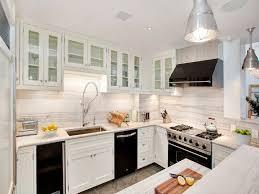 Black Kitchen Cabinets And White Appliances Hawk Haven Enchanting Modern Kitchen With White Appliances