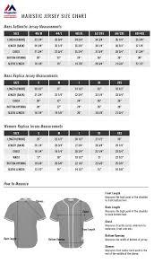 Majestic Mlb Jersey Size Chart Kasa Immo