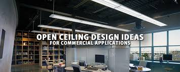Open Ceiling Lighting Design Ideas For Commercial Applications LBC