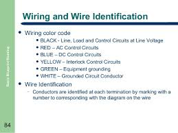 basic blueprint reading wiring and wire identification  wiring color