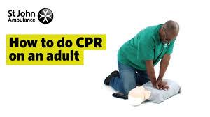 Adult Cpr Symptoms First Aid Advice St John Ambulance
