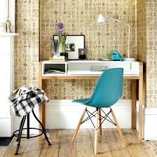 office wallpaper ideas. Wallpaper Ideas For Home Office Use With A Decorative Lettering Design To Add Character .