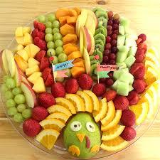 Decorative Fruit Trays Cute Turkey Fruit Platter Working Mom's Edible Art 10