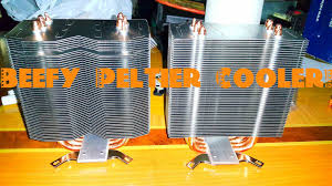 picture of making a beefy peltier cooler