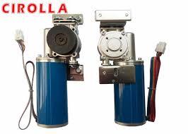 electronic sliding door automatic door motor dc brushless gear motor 24v 100w