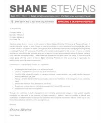 Creative Cover Letters The Shane Cover Letter Creative Resume Template 1