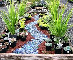 glass landscape rock magnolia gift and garden glass rock landscape mulch