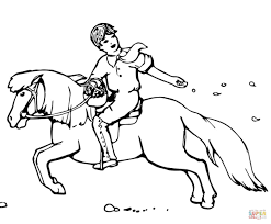 Small Picture Shetland Pony coloring page Free Printable Coloring Pages