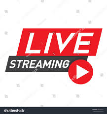 Live Streaming Icon, Badge, Emblem for broadcasting or online tv stream.  Vector in material, flat, design style. #… | Tv online streaming, Live  streaming, Broadcast