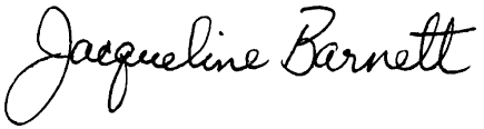 Biography Jacqueline (Marx) Barnett