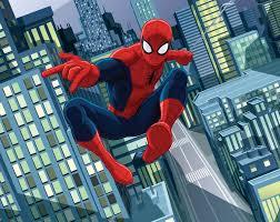 Spiderman Behangpapier 25 X 3 M
