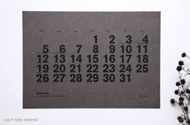 無料素材5分で完成おしゃれなモノトーンカレンダーの作り方 Class